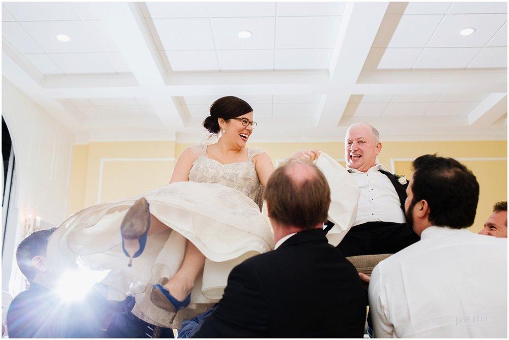 Dumbarton House wedding bride and groom hora.jpg