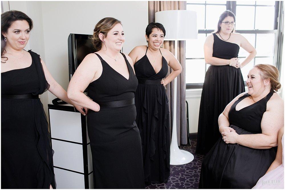W Hotel DC wedding smiling bridesmaids.jpg