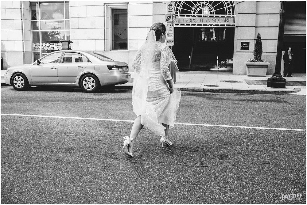 W Hotel DC wedding bride crossing street.jpg