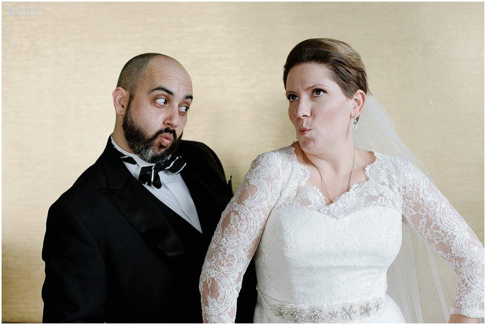 W Hotel DC wedding silly faces portrait.jpg