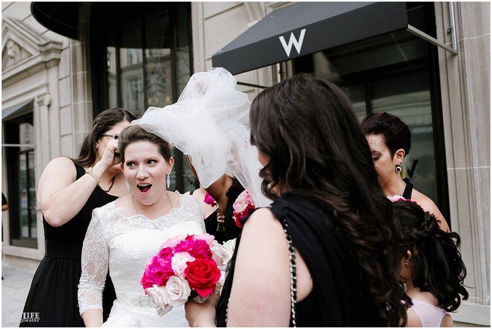 W Hotel DC wedding bride veil blowing.jpg