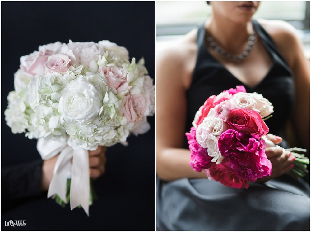 W Hotel DC wedding pink and white bouquets.jpg