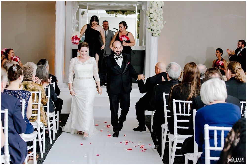 W Hotel DC wedding bride and groom recessional.jpg