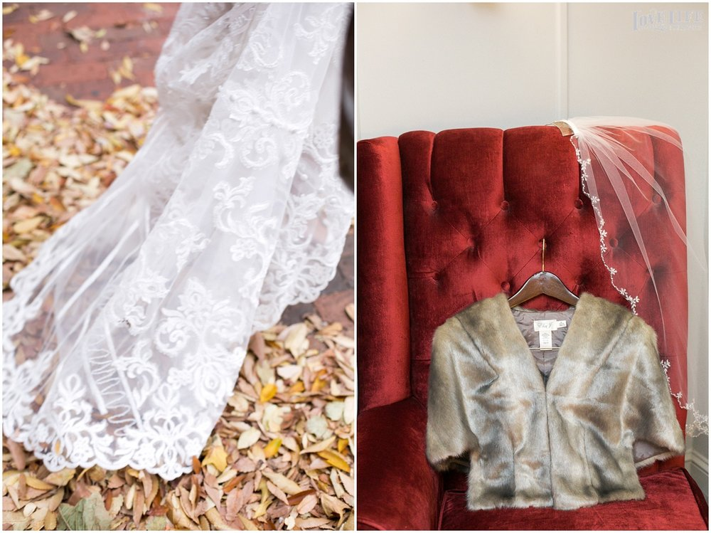 Pinstripes DC Wedding bride veil and dress details.jpg