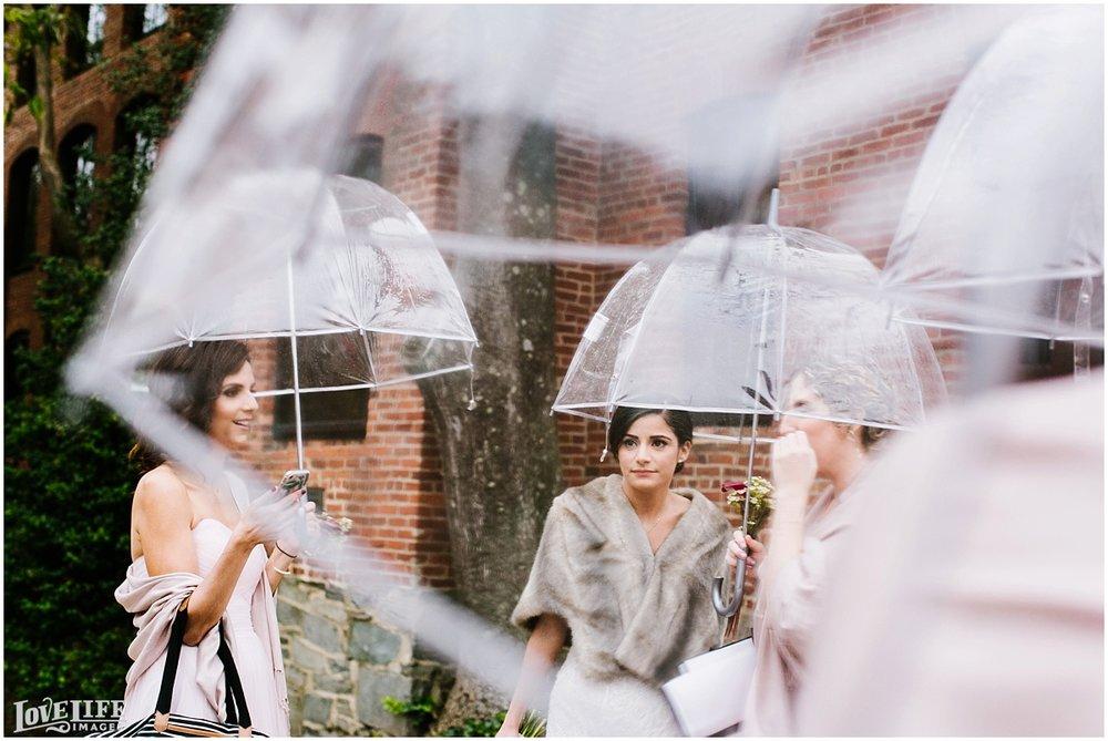 Pinstripes DC Wedding bride with umbrella.jpg