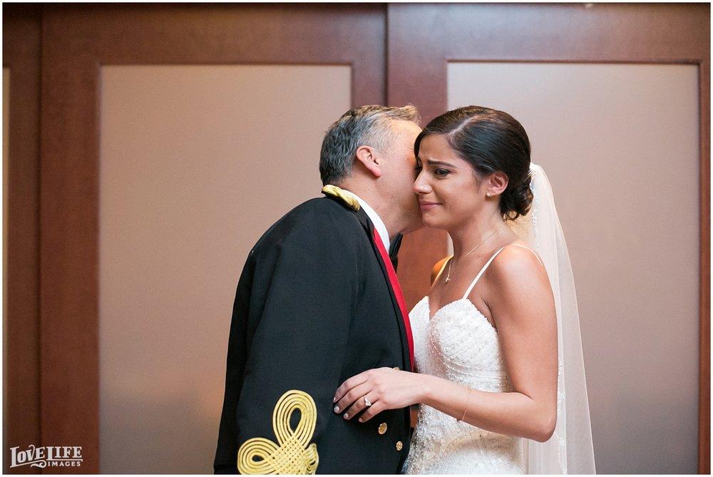 Pinstripes DC Wedding bride with father.jpg