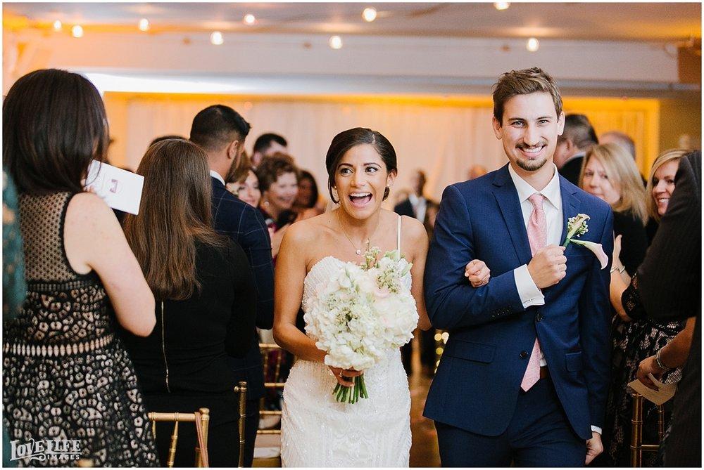 Pinstripes DC Wedding bride and groom recessional.jpg