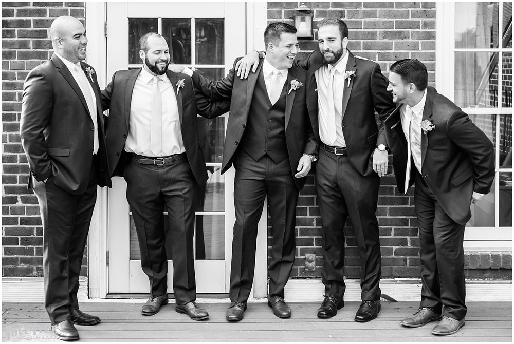 Malmaison DC Wedding groomsmen laughing.jpg