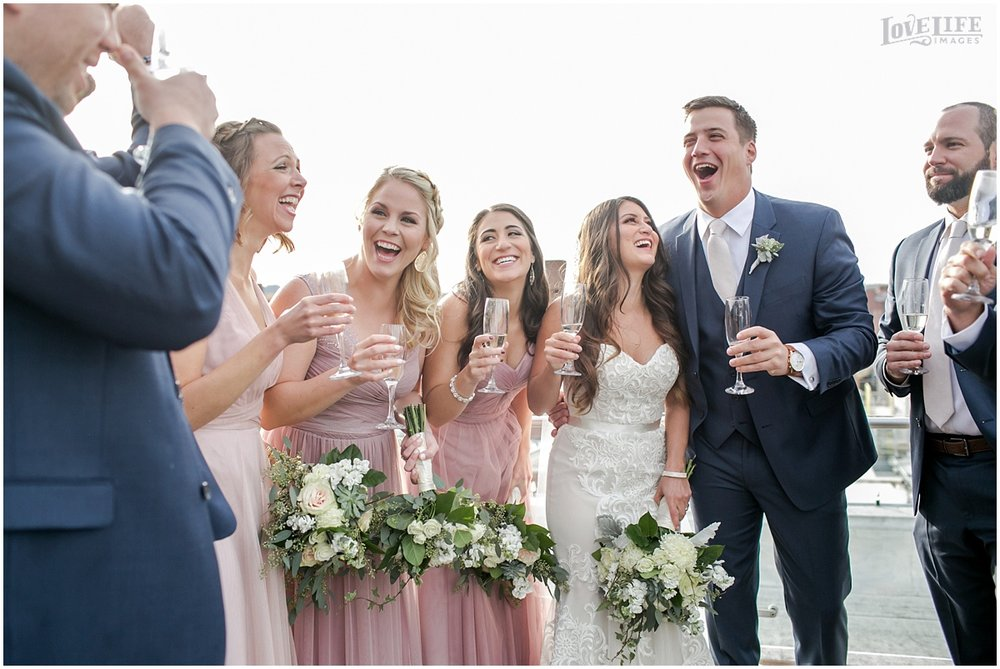 Malmaison DC Wedding bridal party cheers.jpg