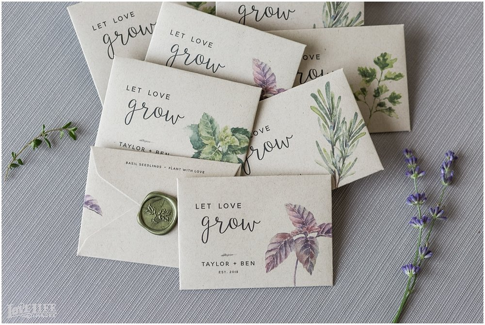 Eco wedding favors seed packets.jpg
