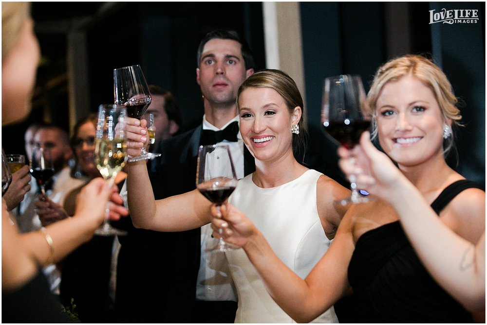District Winery Winter Wedding reception toast.JPG