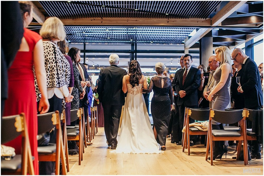 District Winery DC Wedding processional.jpg