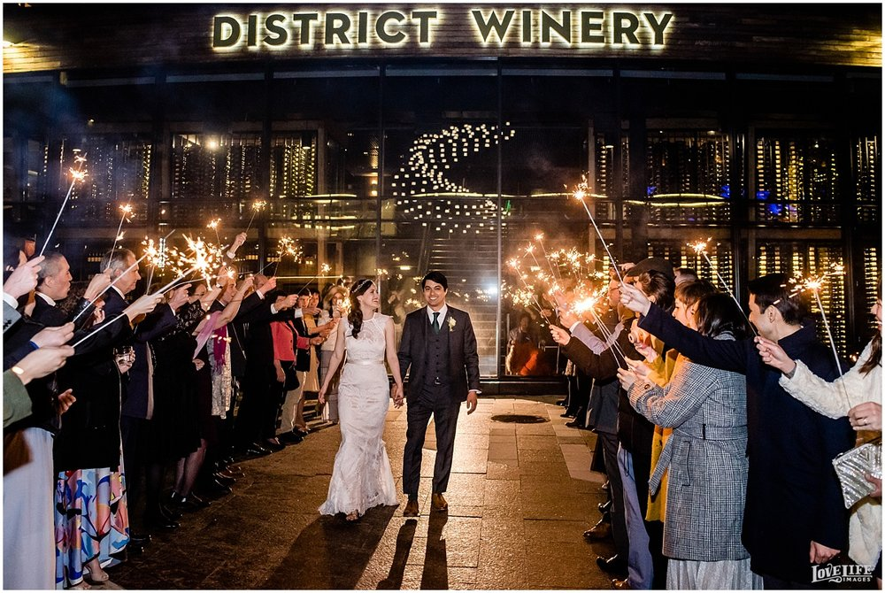 District Winery DC Wedding sparklers.jpg