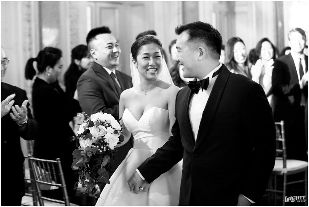 Anderson House DC Wedding ceremony newlyweds.jpg