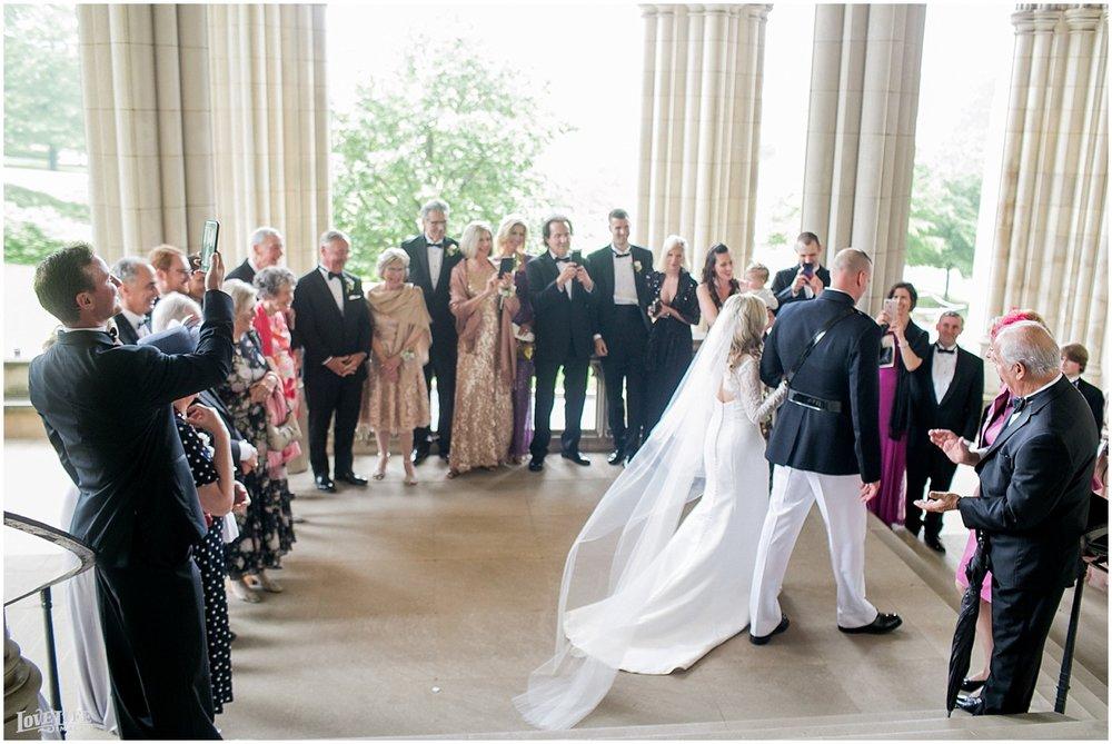 Cosmos Club DC Wedding church processional.jpg
