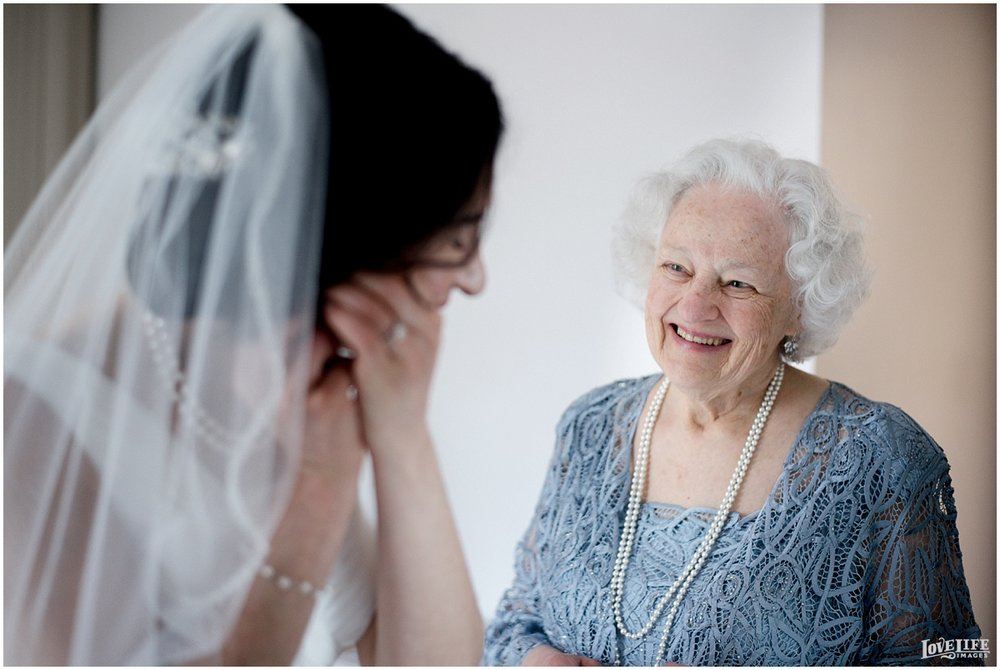 St Francis Hall Wedding bride with grandmother.jpg