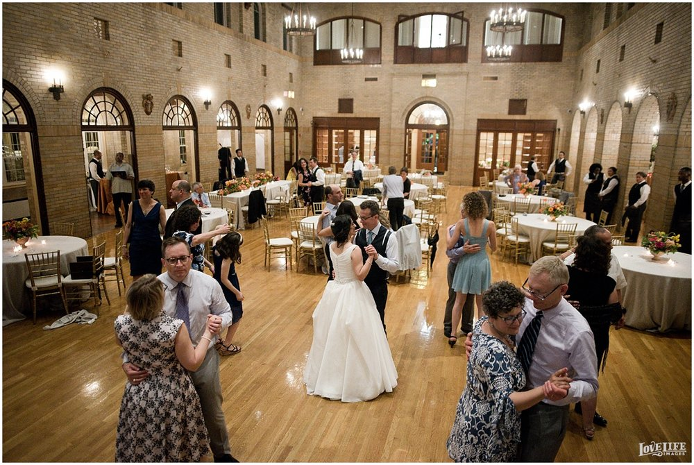 St Francis Hall Wedding reception.jpg