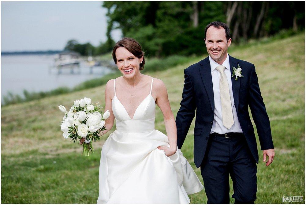 Hyatt Chesapeake Bay Wedding waterfront portrait.jpg