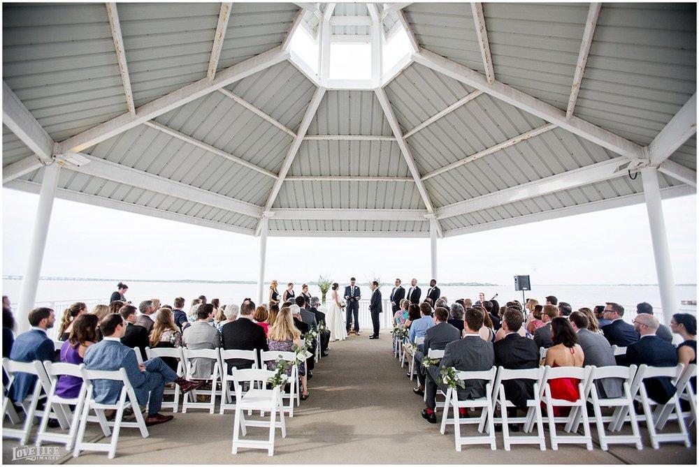 Hyatt Chesapeake Bay Wedding pavilion ceremony.jpg