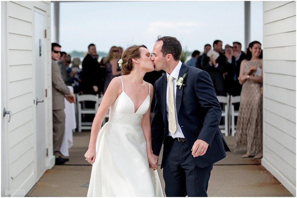 Hyatt Chesapeake Bay Wedding recessional.jpg