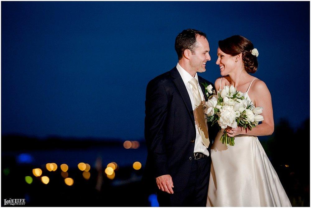Hyatt Chesapeake Bay Wedding nighttime bridal portrait.jpg