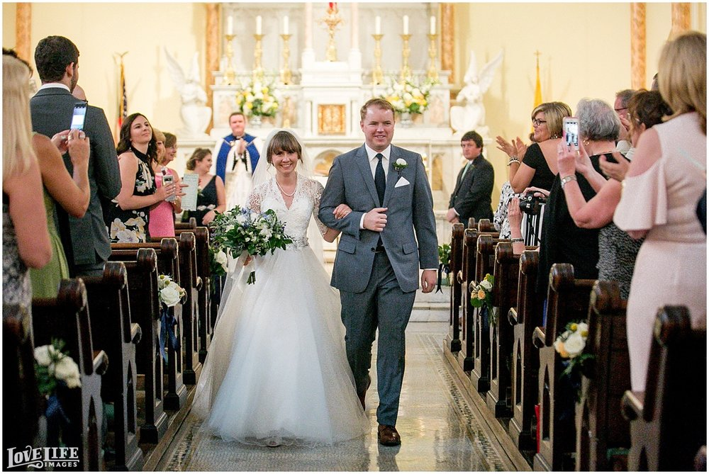 Dumbarton House DC Wedding recessional.jpg