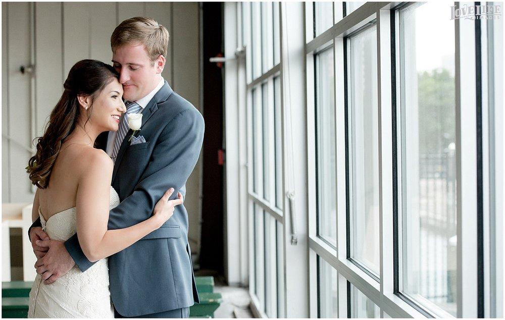 Baltimore Museum of Industry Wedding bride and groom portrait.jpg