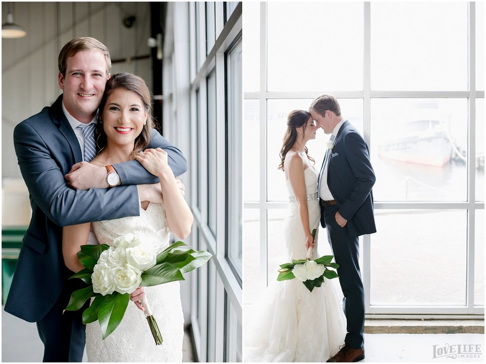 Baltimore Museum of Industry Wedding couple portraits.jpg