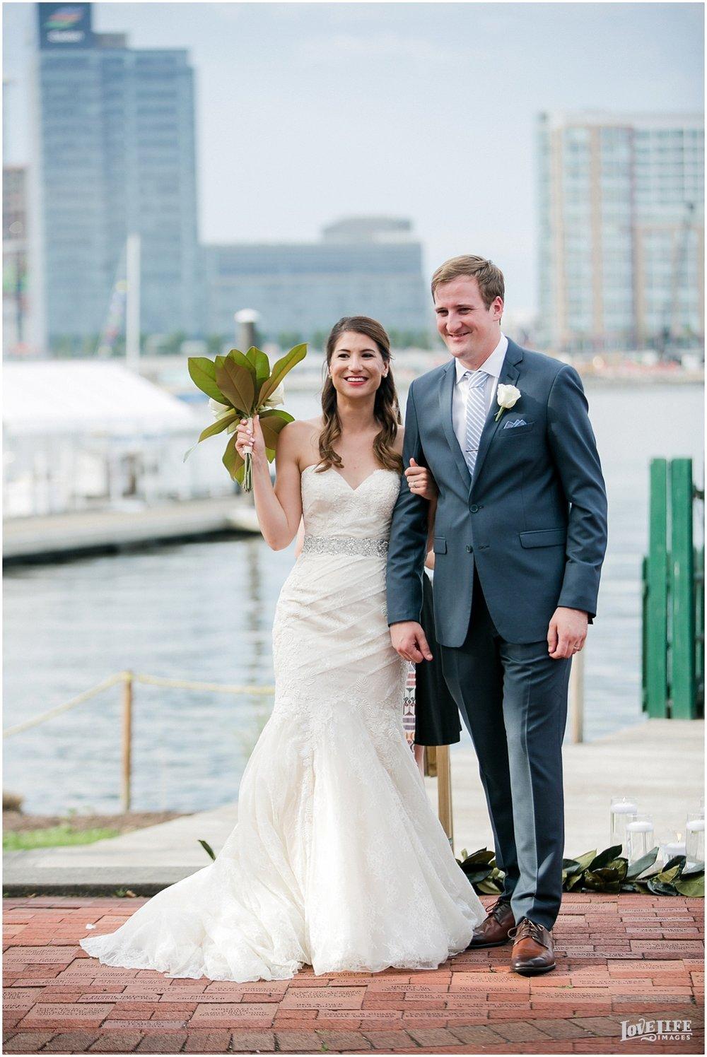Baltimore Museum of Industry Wedding outdoor ceremony.jpg