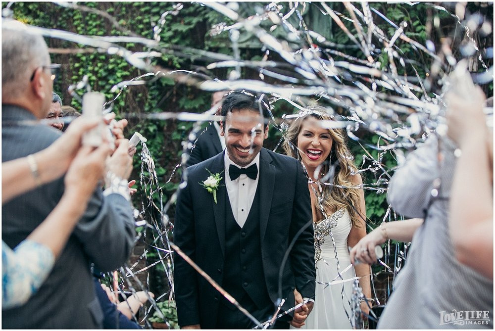 Tabard Inn DC Wedding ceremony streamers.jpg