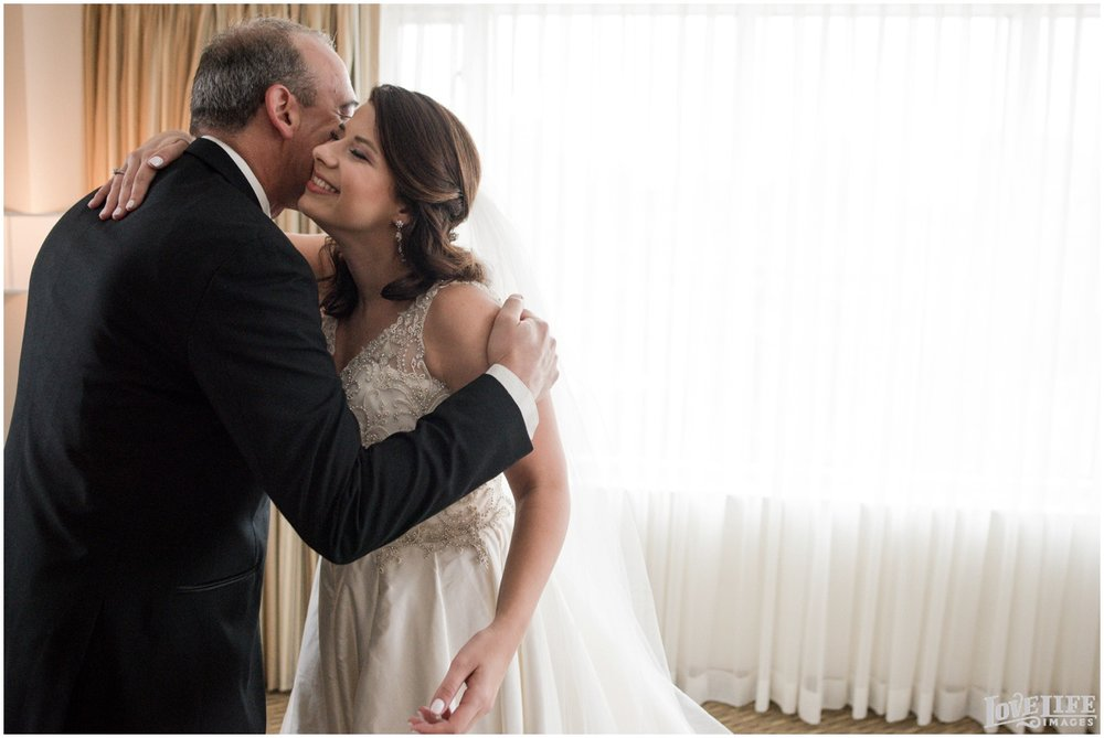 Belvedere Baltimore Wedding bride with dad.jpg