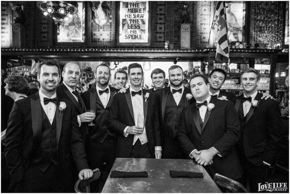 Belvedere Baltimore Wedding groomsmen.jpg