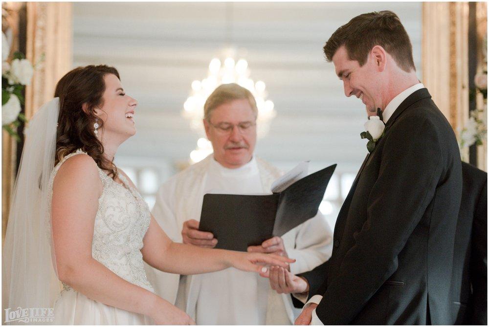 Belvedere Baltimore Wedding ceremony ring exchange.jpg