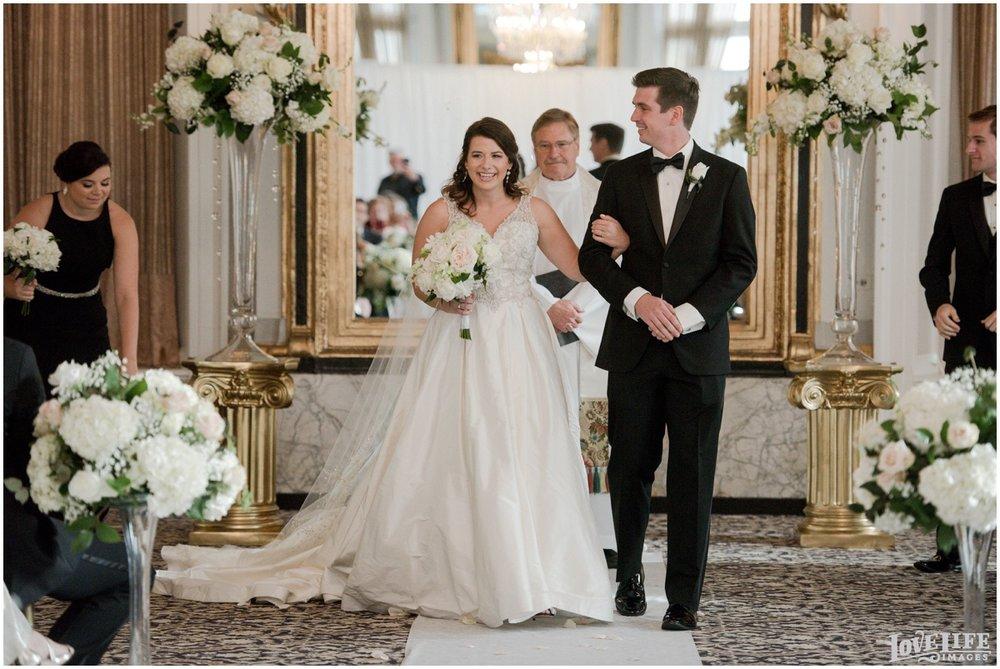Belvedere Baltimore Wedding recessional.jpg