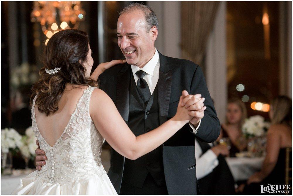Belvedere Baltimore Wedding bride father dancing.jpg