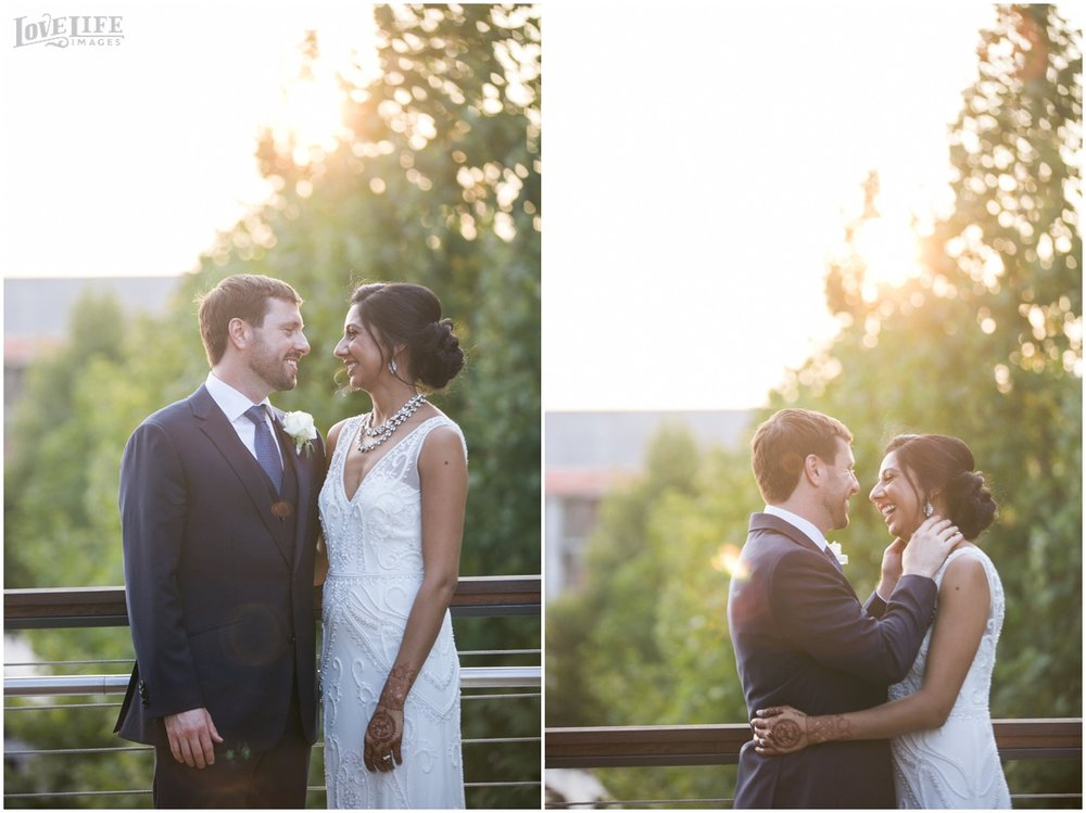 Multicultural District Winery DC Wedding sunset portraits.jpg