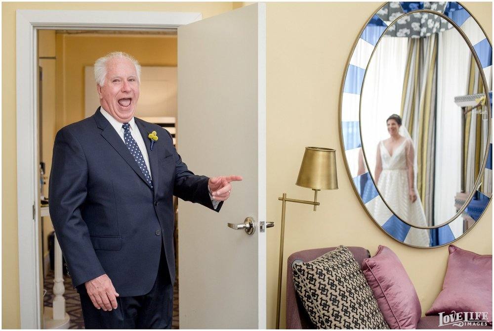 Hotel Monaco DC Wedding bride first look with dad.jpg