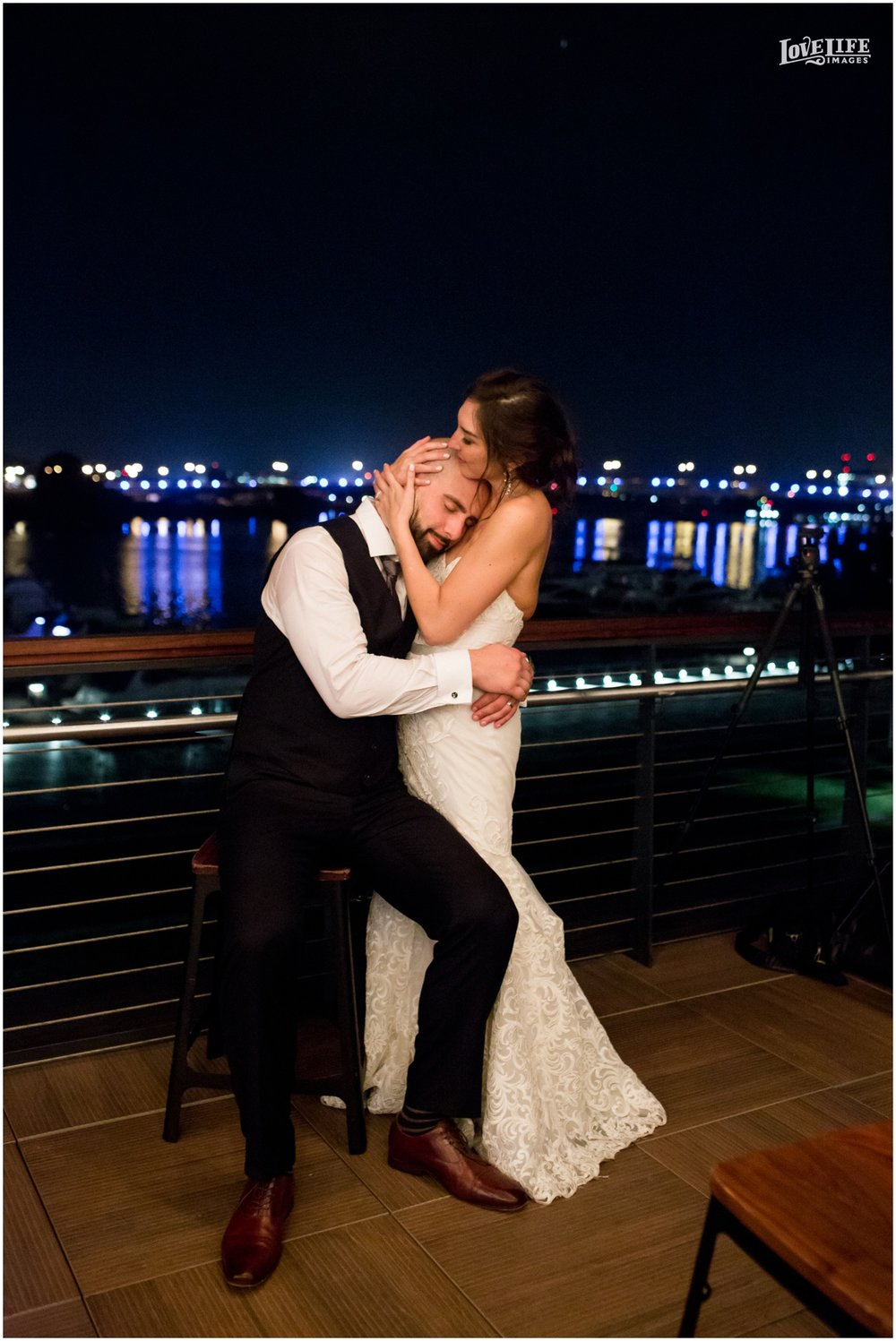 District Winery Fall DC wedding nighttime bridal portrait.JPG