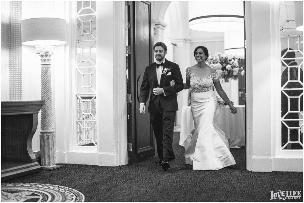 Hotel Monaco DC Wedding bride groom reception entrance.jpg