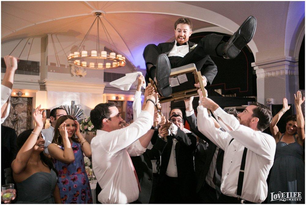 Hotel Monaco DC Wedding hora.jpg