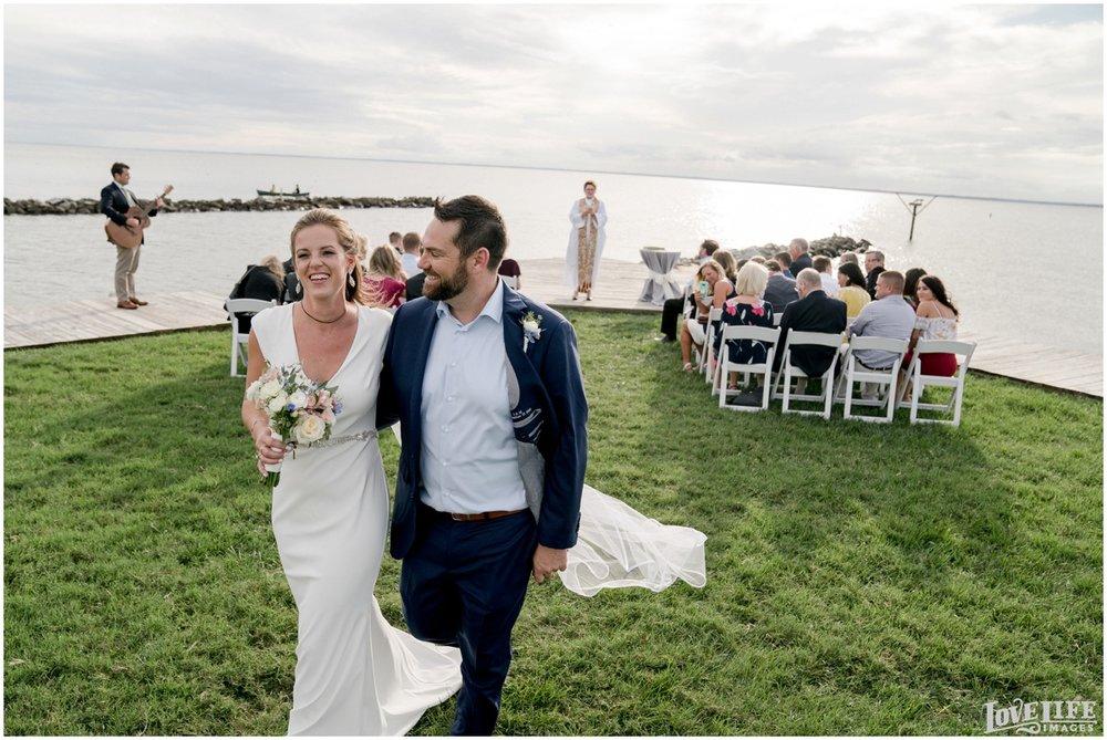 Silver Swan Bayside Wedding ceremony processional.jpg