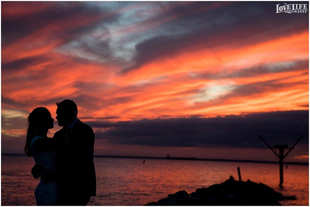 Silver Swan Bayside wedding sunset silhouette.jpg