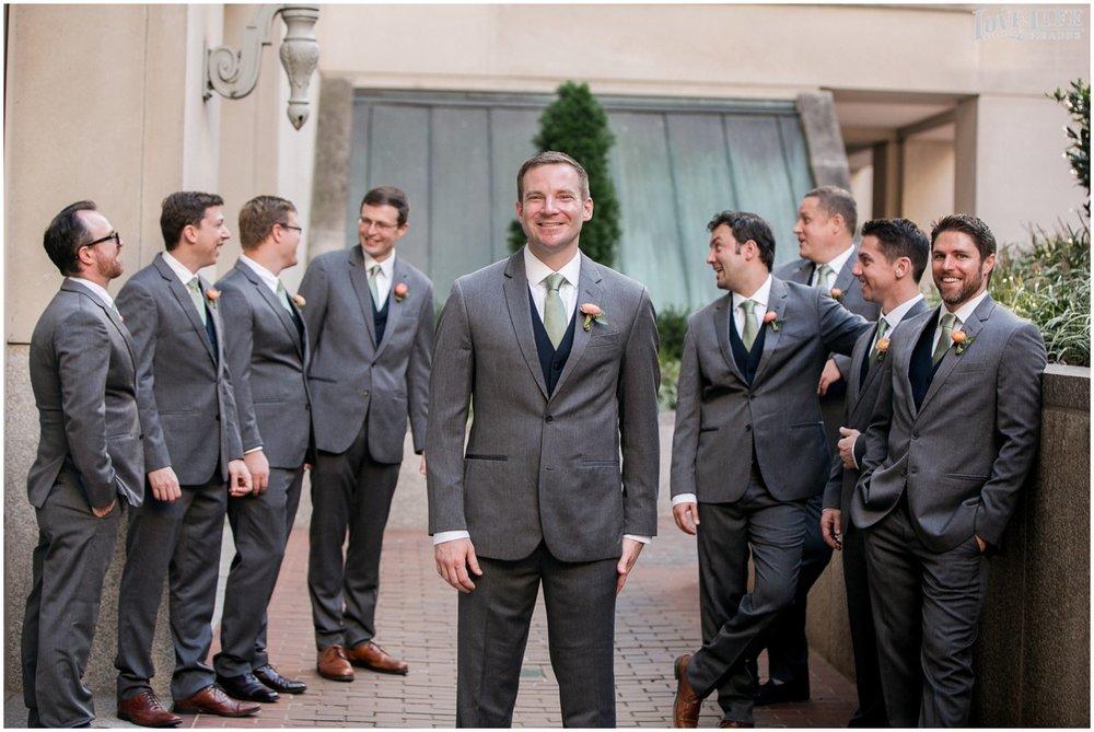 Fairmont DC Wedding groomsmen in grey and navy.jpg