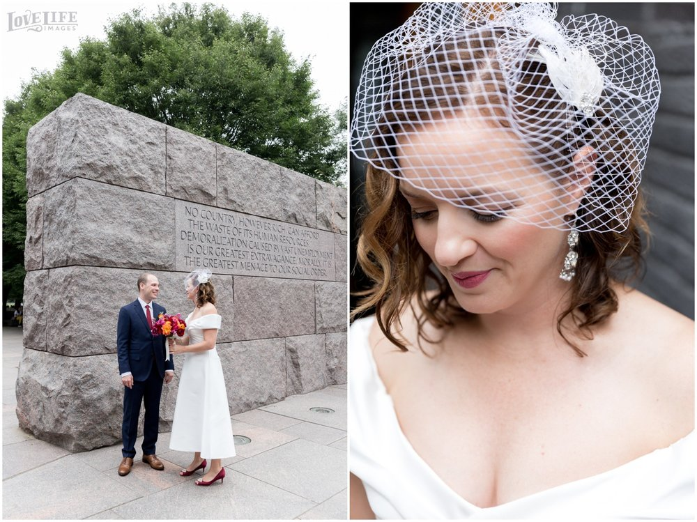 Anxo Cidery DC Wedding bride with birdcage veil.jpg