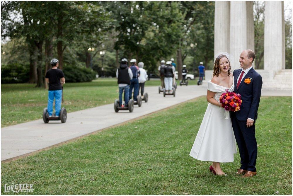 Anxo Cidery DC Wedding candid portrait at memorial.jpg