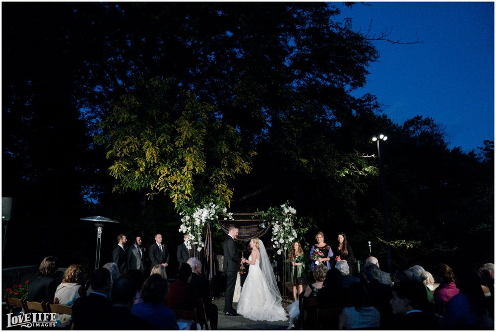 Baltimore Museum of Art Wedding evening garden ceremony.jpg
