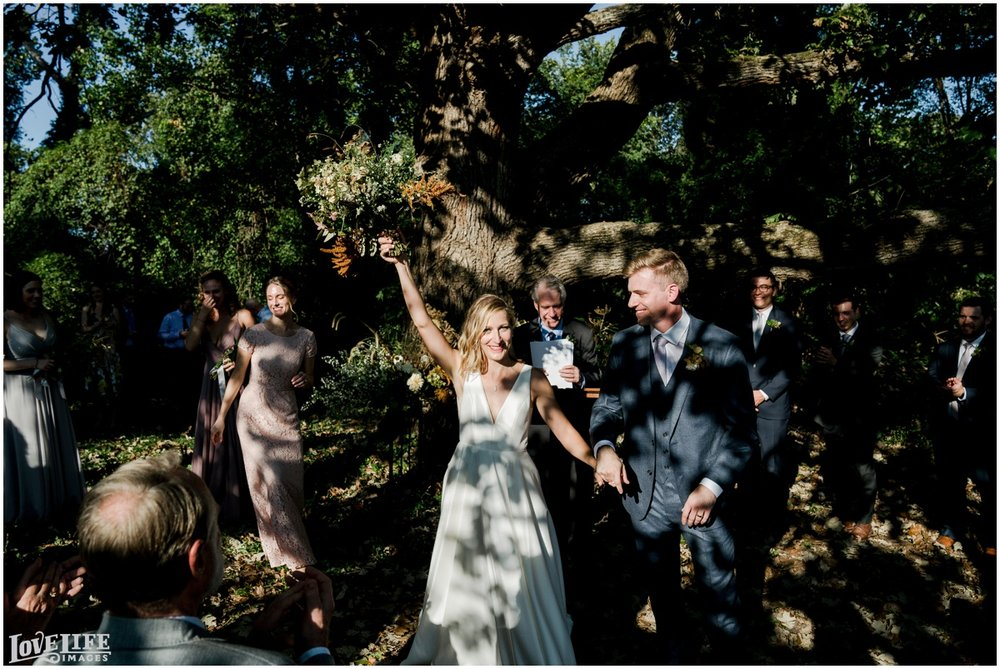 River Farm Wedding ceremony recessional.jpg