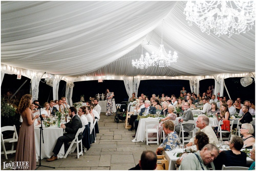 River Farm Wedding tented reception toast.jpg
