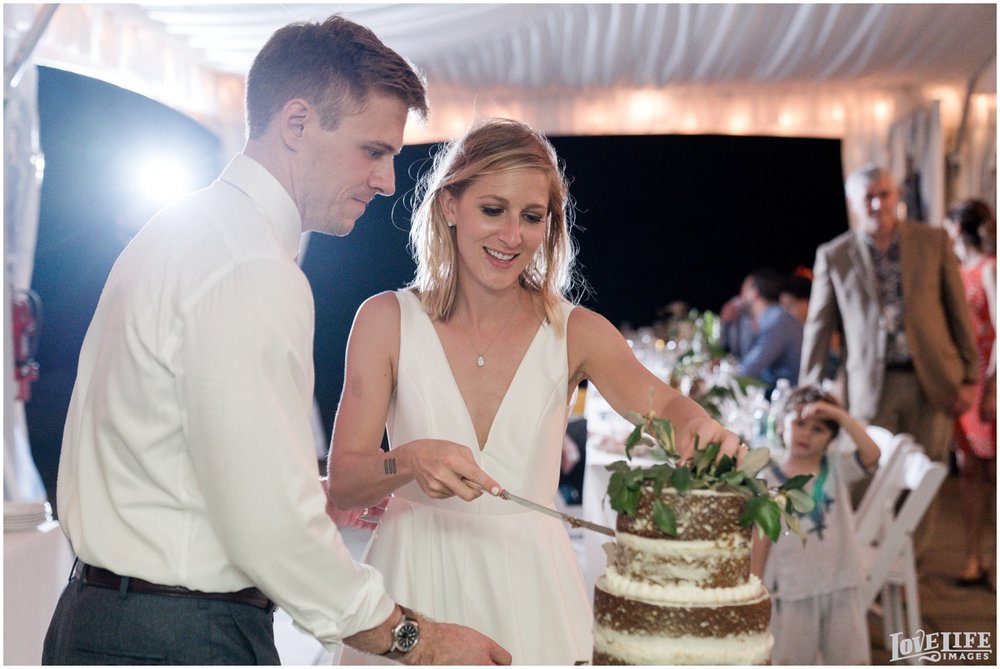 River Farm Wedding cake cutting.jpg