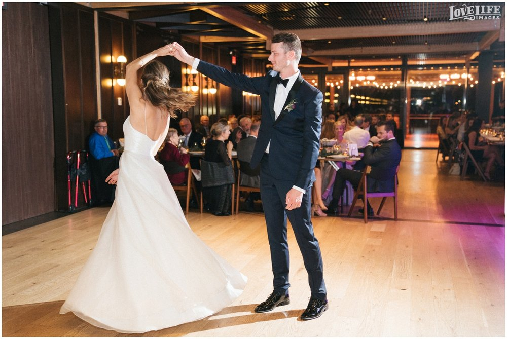 District Winery DC Wedding bride groom first dance.jpg